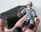 Miniature Bald Prisoner w...