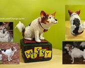 Custom pet dog sculpture...