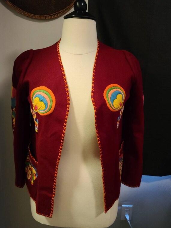 1940s Mexican  Souvenir jacket