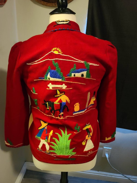 1940s Mexican Souvenir jacket - image 7