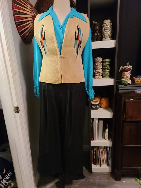 1950s Chimayo Vest