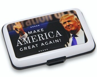 Donald Trump Make America Great Again Wallet Credit Card Holder