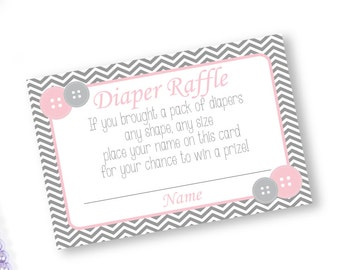 baby shower diaper raffle printable diaper raffle ticket button baby shower cute as a button diaper raffle card diaper raffle insert
