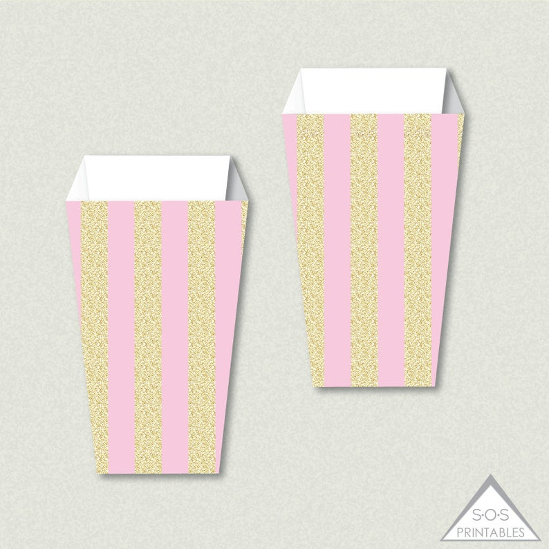 image about Printable Popcorn Boxes referred to as Printable Popcorn Bins, Red Gold Glitter Popcorn Box, Popcorn Cup, Snack Box, Video Theater Birthday, Video Social gathering Printables, Video clip Evening