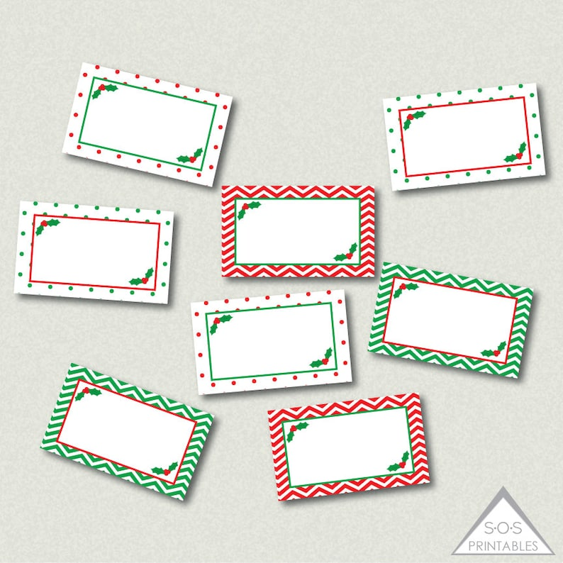 photograph regarding Christmas Labels Printable named MIni Printable Xmas Labels, Xmas Printables, Mistletoe Labels, Editable Labels, Printable Present Tags, Instantaneous Down load
