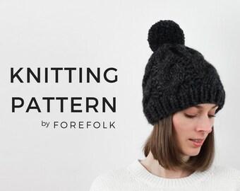 efde6ece219 Knit hat pattern