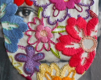 Embroidery Art - Britney Spears - Touch Of My Hand
