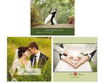 Wedding Photo Album 10x10 Photoshop Template 001