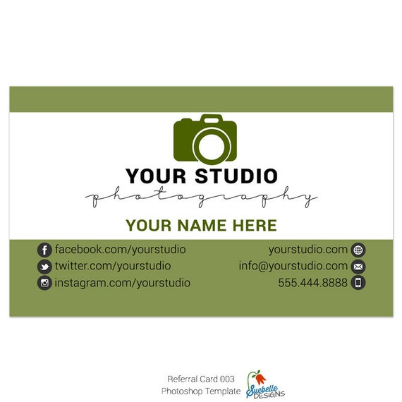 Rücküberweisung Visitenkarte Größe Photoshop Vorlage 003 Für Professionelle Fotografen