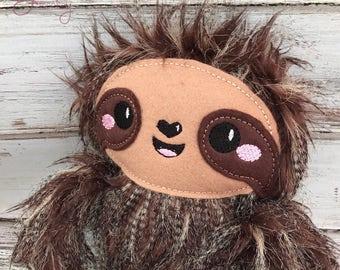 Stuffed Sloth, Plush Sloth