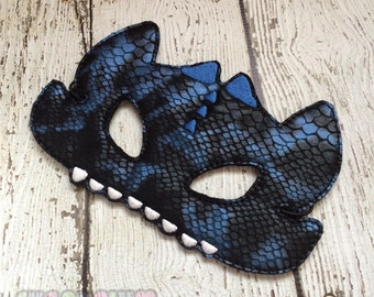 Dragon Mask with Scales