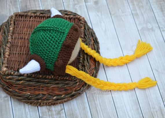 Wikinger Hut Viking Babymütze Viking Baby Mädchen Wikinger