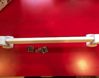 Vintage Towel Rod, 1920's - 1930-s, White, Great Condition