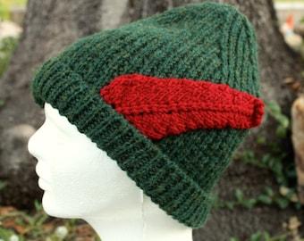 586e99c051c Peter Pan Beanie - Hand Knit