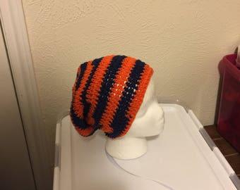 457ddfaf5fd Orange and Navy Beanie