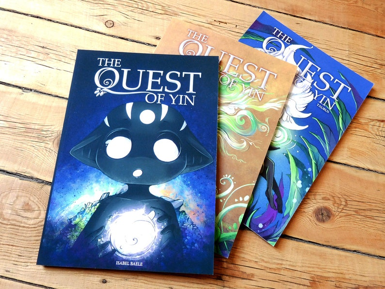 Comic book: The Quest of Yin Part 1  2 and 3 image 0