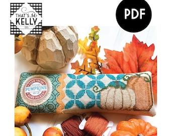 Fresh Pumpkins PDF Cross Stitch Chart