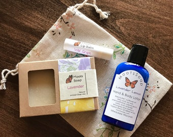 Soap, Lotion and Lip Balm Gift Set