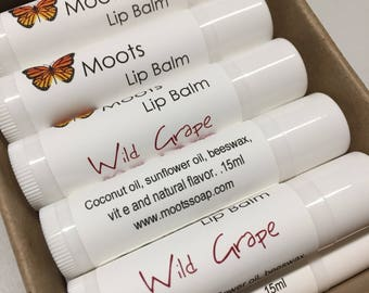 Lip Balm - Natural Lip Moisturizer - Chap Stick