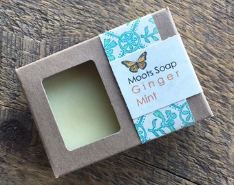 Ginger Mint - Cold Processed Soap