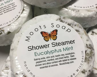 Shower Steamer - Eucalyptus Mint -  Menthol