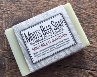 MKE Beer Garden Beer Soap - Eucalyptus Mint