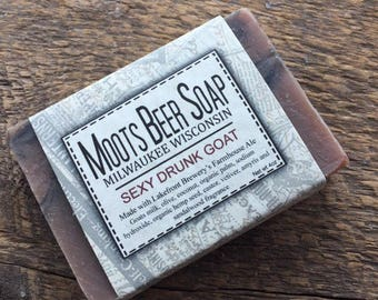 Beer Soap - Sexy Drunk Goat - Goat's Milk Soap