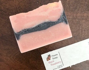 Black Raspberry Soap - Bath Soap, Bar Soap, Body Soap, Hand Soap