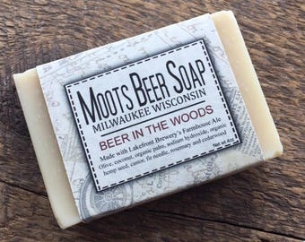 Beer Soap - Beer In The Woods Beer Soap - Fir Needle - Cedarwood