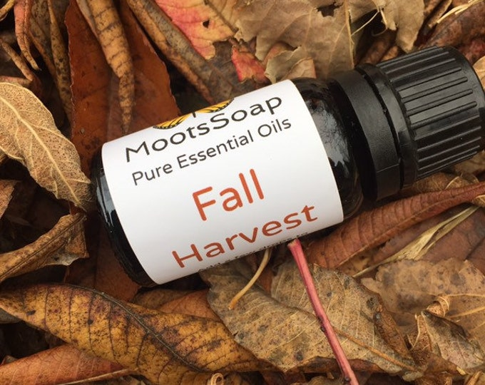Featured listing image: Essential Oil Blends, Fall Harvest, diffuser oils, natural