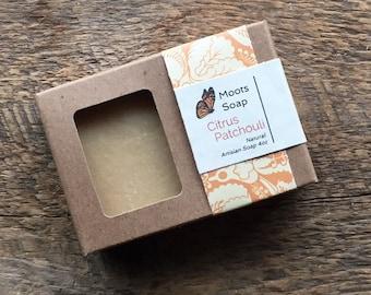 Citrus Patchouli Organic Soap