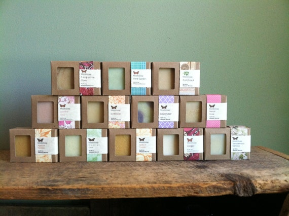 Bar Soaps - Full list of all soaps in our studio.