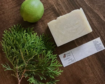 Conifer and Lime Soap - Organic