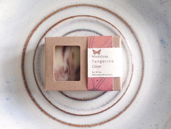 Tangerine Clove Soap Organic Soap