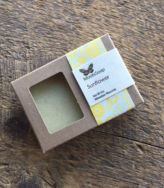 Sunflower Handmade Soap