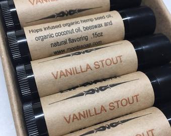Lip Balm - Vanilla Stout - Natural Lip Moisturizer