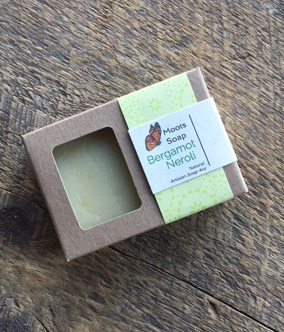Bergamot Neroli - Cold Processed Soap