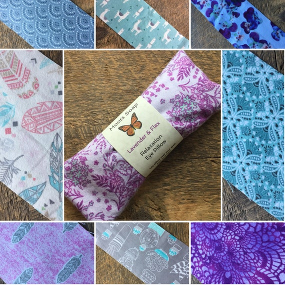 Eye Pillow - Lavender & Flax