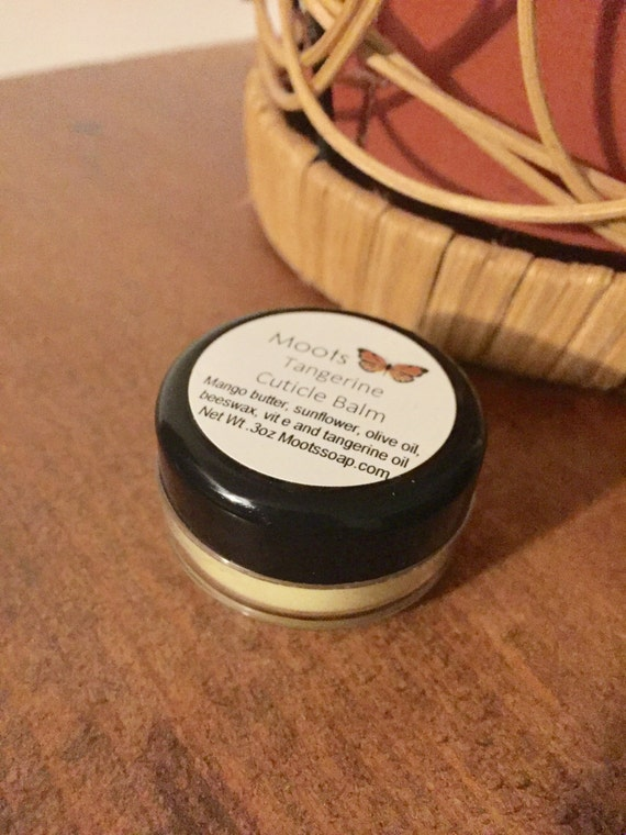 Cuticle Balm - Tangerine - Mango Butter