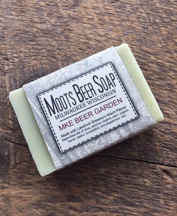 Beer Soap - MKE Beer Garden Beer Soap - Eucalyptus Mint