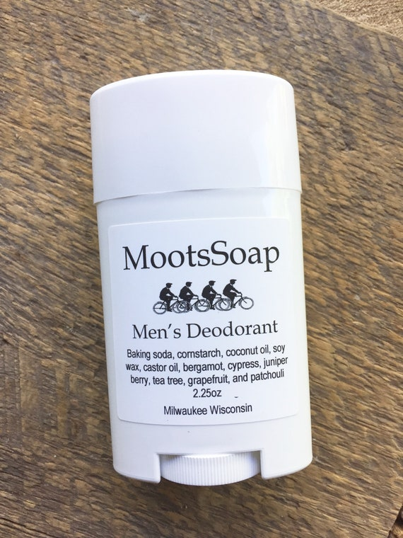 Men's Deodorant, Aluminum Free Deodorant, Preservative Free Deodorant