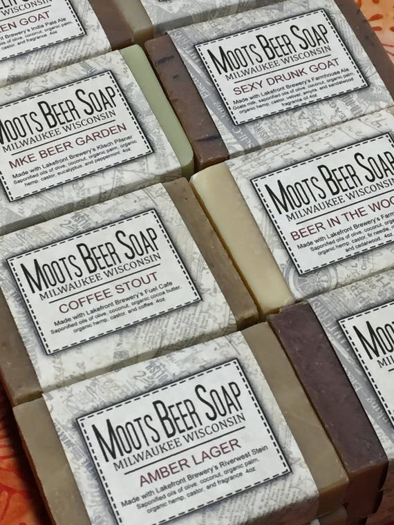 Beer Soap Four Pack