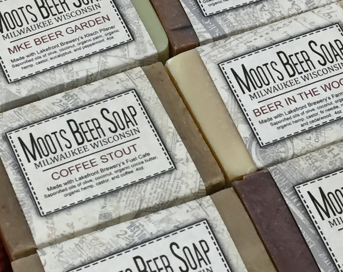 Featured listing image: Beer Soap Six Pack, Beer Soap Gift, Beer Soap, Mens Soap, Handmade Soap, Palm Free Soap