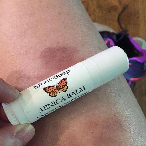 Arnica Balm, Arnica Salve, Sore Muscle Balm, Natural Pain Relief Salve, Bruise Balm