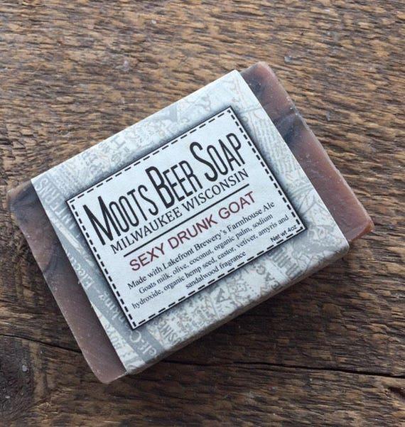 Beer Soap - Sexy Drunk Goat - Goat's Milk Soap