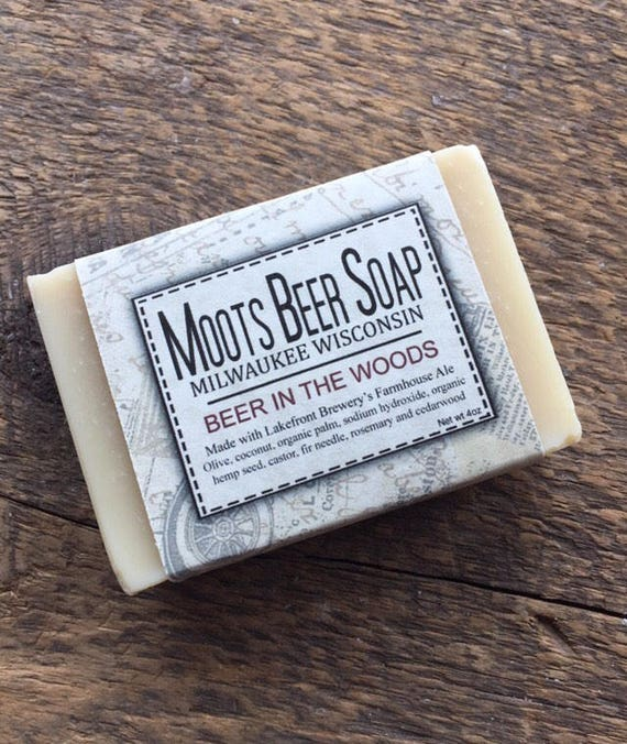 Beer Soap - Beer In The Woods Beer Soap - Fir Needle - Cedarwood