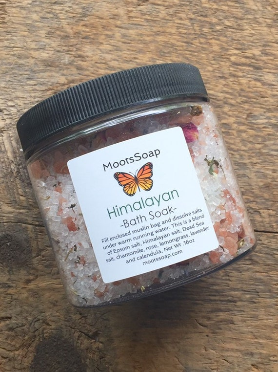 Bath Soak - Himalayan Bath Soak - Bath Salts - Dead Sea Salt Bath