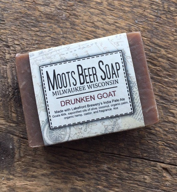 Beer Soap - The Drunken Goat  Beer Soap - Goat's Milk Soap