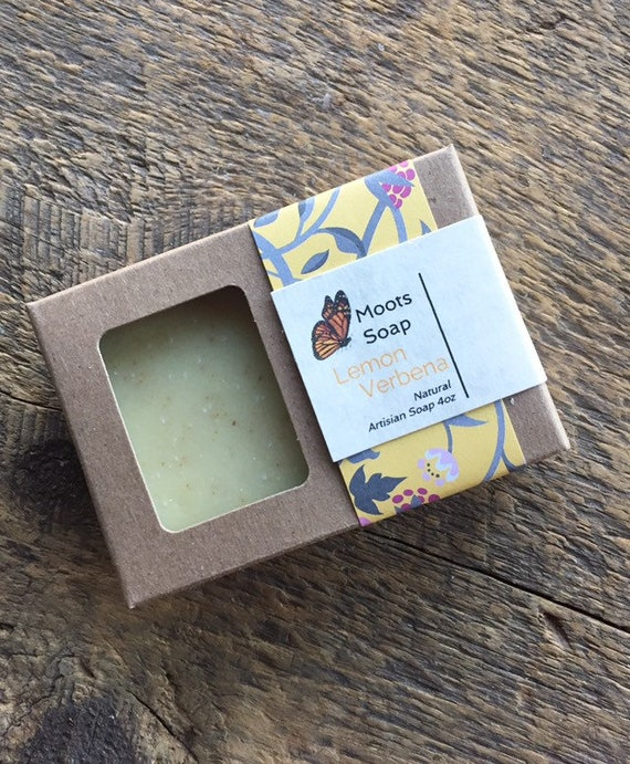 Lemon Verbena Soap, Natural, Handmade
