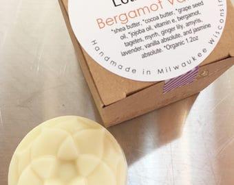 Lotion Bar - Bergamot Vanilla